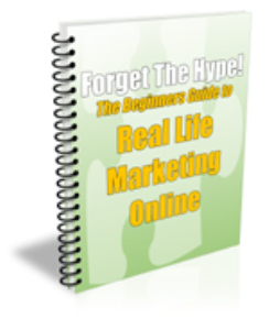 the beginners guide to real life marketing onlin