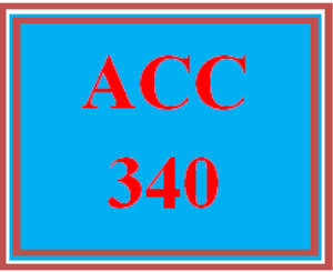 ACC 340 Week 1 Textbook Assignment | eBooks | Education