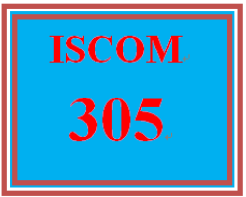First Additional product image for - ISCOM 305 Week 4 Chapter Questions
