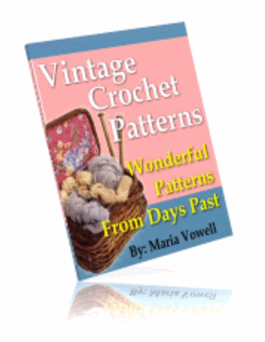 First Additional product image for - Vintage Crochet Patterns