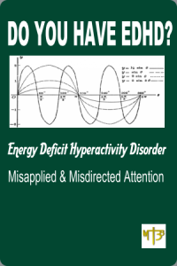 edhd - energy deficit hyperactivity disorder