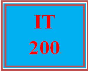 IT 200 Week 3 Week Three Electronic Reserve Readings | eBooks | Education