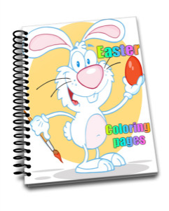 easter coloring pages and clipart for kids