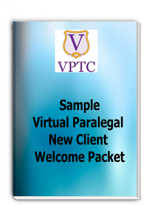 sample - virtual paralegal new client welcome packet