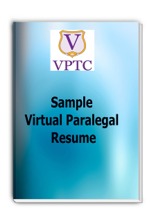 sample - virtual paralegal resume