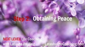 next level life coaching step 2 peace