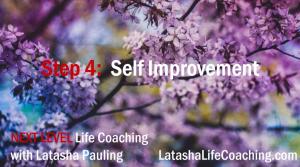 next level life coaching step 4 self improvement