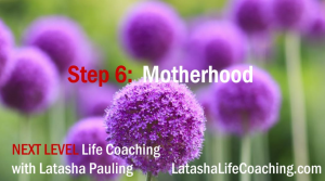 next level life coaching step 6 motherhood