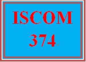 ISCOM 374 Week 5 Transportation   eBooks   Education