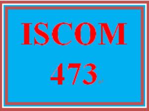 ISCOM 473 Week 5 eCommerce Process | eBooks | Education