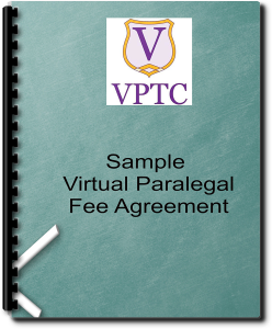 Sample Virtual Paralegal Fee Agreement | Documents and Forms | Legal