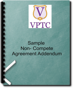 Sample Contractor Agreement  Non- Compete Agreement Addendum | Documents and Forms | Legal