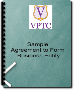Sample Agreement to Form Business Entity | Documents and Forms | Legal