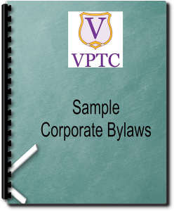 sample corporate bylaws