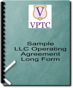 Sample LLC Operating Agreement - Long Form | Documents and Forms | Legal