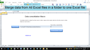 merge excel data