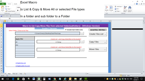 Second Additional product image for - List Files copy or Move into a folder