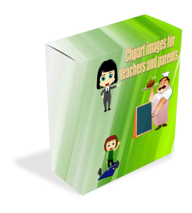 clipart character images for parents and teachers