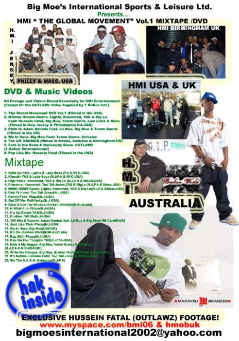 First Additional product image for - The Global Movement - Double disc set (DVD + Mixtape)