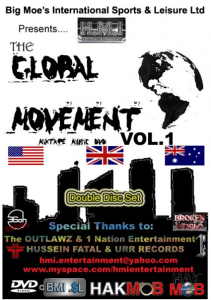 the global movement - double disc set (dvd + mixtape)