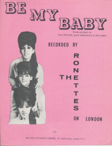 be my baby by the ronettes arranged for show band