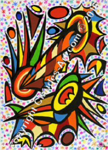 claude's art:   dessin # 255 hd