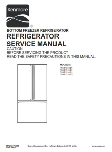 Kenmore 795.71312 71313 71314 71319 (.31... models) service manual | eBooks | Technical