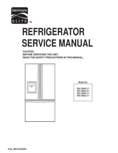 kenmore 795.72052 72053 72059 (.11...models) service manual