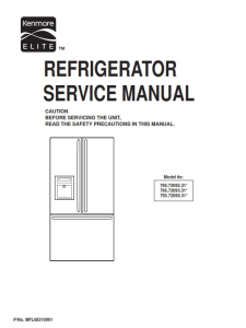 Kenmore 795.72092 72093 72099 (.31.. models) service manual | eBooks | Technical
