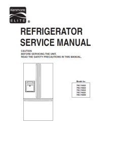 Kenmore 795.74022 74023 74024 74025 74029 service manual | eBooks | Technical