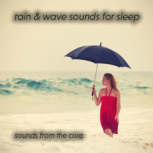 8 hours of rain and wave sounds for sleeping | Music | Ambient