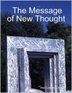 the message of new thought by abel leighton allen