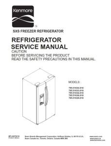 Kenmore 795. 51032 51033 51034 51036 51039 (.010 models) service manual | eBooks | Technical
