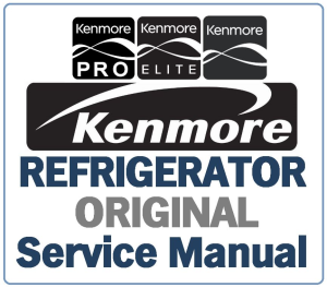 Kenmore 795. 51032 51033 51034 51036 51039 (.011 models) service manual | eBooks | Technical