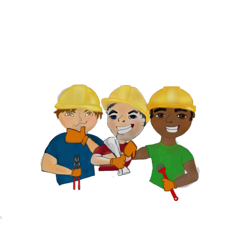 Second Additional product image for - Construction workers plumber, engineer, HVAC, mechanical