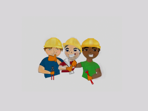 Construction workers plumber, engineer, HVAC, mechanical | Photos and Images | Clip Art