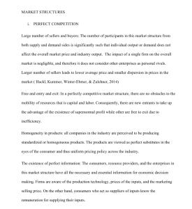 ashford university eoc 203 market structures final paper 10 pages.