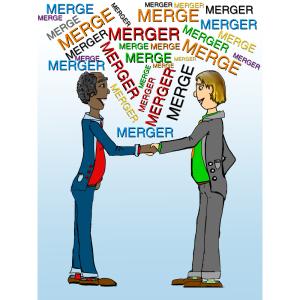 company merger clip art