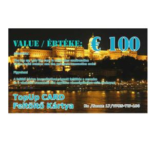 feltolto kartya 100 eur