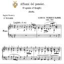 Affani del pensier, Low Voice in C Minor. For ass, Contralto, G.F.Handel, Tablet Sheet Music. A5 (Landscape). Schirmer (1894) | eBooks | Sheet Music