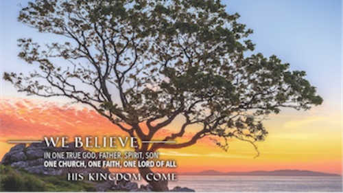 First Additional product image for - We Believe (The Apostles' Creed) by Keith & Kristyn & Stuart Townend and custom arranged for SATB choir and full (large) orchestra with rhythm