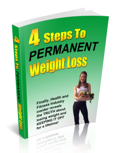 4 steps to permanent weight loss
