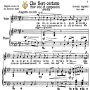 Che fiero costume, Low Voice in F Minor, G.Legrenzi. For Bass, Contralto. Tablet Sheet Music. A5 (Landscape. Schirmer (1894)). | eBooks | Sheet Music