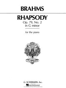 rhapsody no. 2 in g minor – brahms