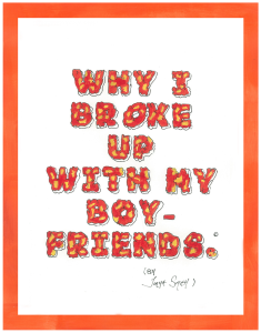 why i broke up with my boyfriends