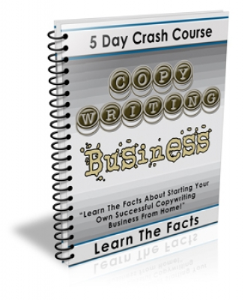 5 Day Crash Course Copywriting Business | eBooks | Business and Money