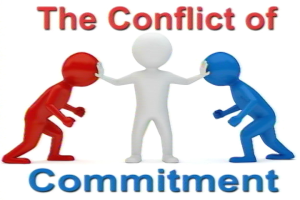 the conflict of commitment