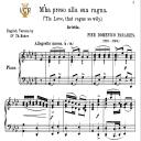 M'ha preso alla sua ragna, Medium Voice in A Flat Major, P.D.Paradies. For Mezzo, Baritone, Soprano. Tablet Sheet Music. A5 (Landscape). Schirmer (1894) | eBooks | Sheet Music
