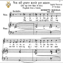 Non m'e grave morir per amore,, Medium-Low Voice in C Major, B. Marcello. For Mezzo, Baritone, Tablet Sheet Music. A5 (Landscape). Schirmer (1894) | eBooks | Sheet Music