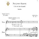 Non posso disperar, Medium Voice in E Minor, G.M.Bononcini. For Soprano, Mezzo, Tenor.   Tablet Sheet Music. A5 (Landscape). Schirmer (1894). | eBooks | Sheet Music